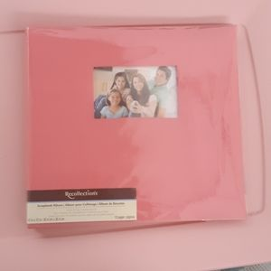 Other - 💥2/$15💥Scrapbook photo album coral pink